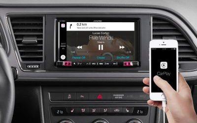 Nueva gama Alpine compatible con Apple CarPlay y Android Auto